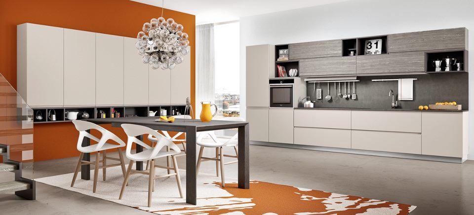 Cucine in finta muratura moderne